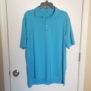 Peter Millar Summer Comfort Golf Polo Size Large